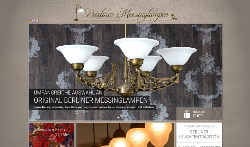 Berliner Messinglampen Shop